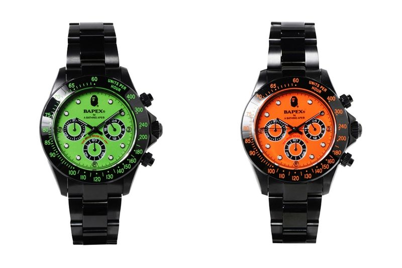 Fluorescent Metal Timepieces