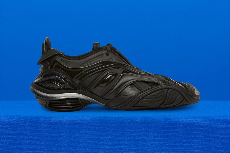 Sci-Fi-Themed Overlapping Sneakers