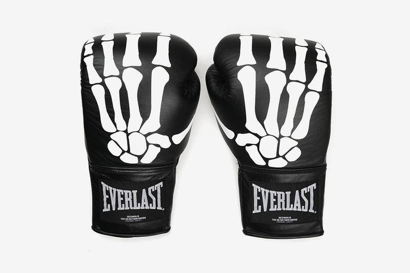 Skeletal Graphic Boxing Gloves