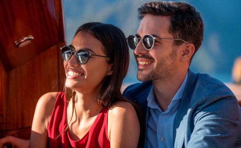 Durable Rotating Frame Sunglasses