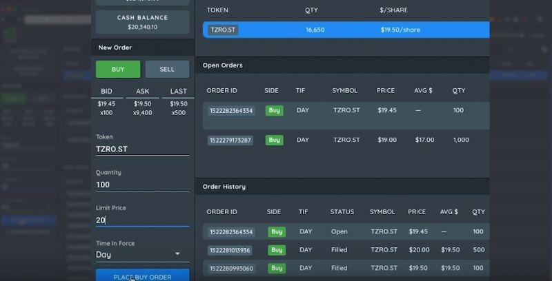 Security Token Trading Platforms