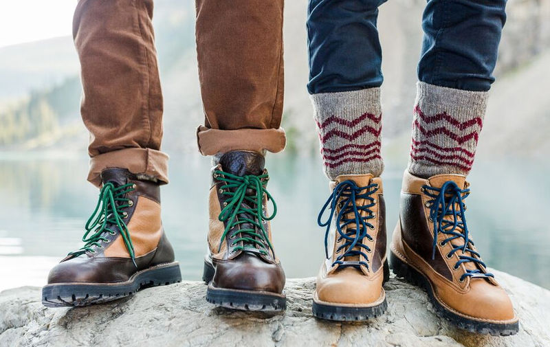 Collaboration Americana Hiking Boots