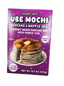 Pureed Ube Pancake Mixes