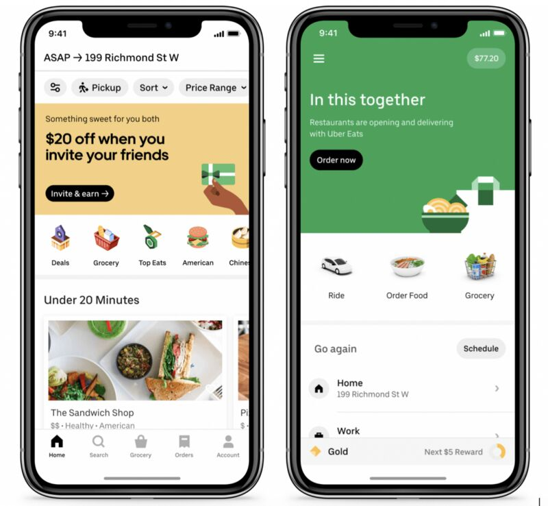 On-Demand Grocery Deliveries