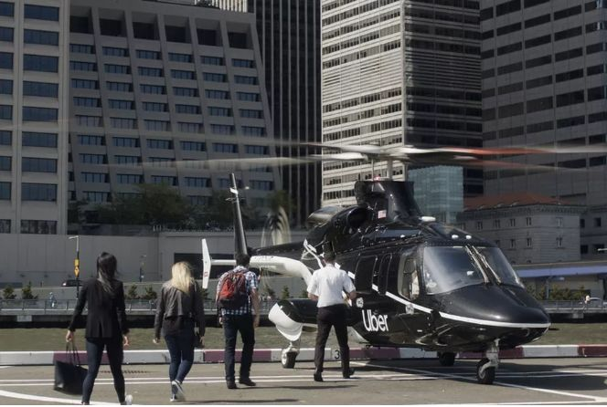 Helicopter Transportation Apps