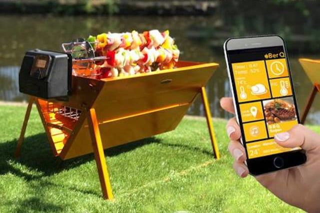 App-Enabled Smart Grills