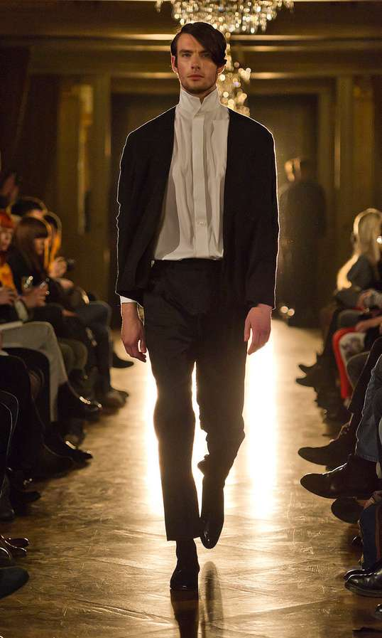 Romantically Postmodern Menswear