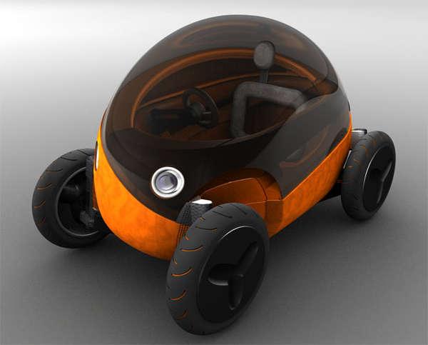 Egg-Shaped Automobiles