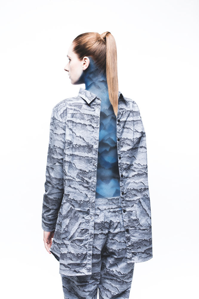 Airbrushed Camouflage Editorials