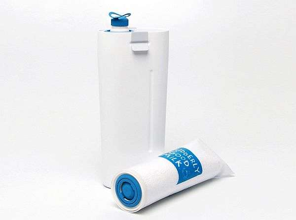 Roll-Up Milk Pouches