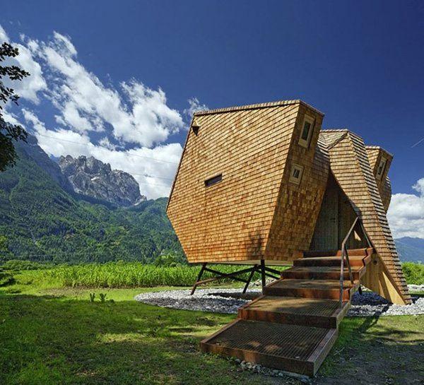 Sci-Fi Alpine Structures