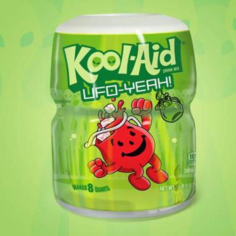 Alien-Inspired Drink Mixes