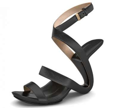 Abstract Wave-Designed Heels
