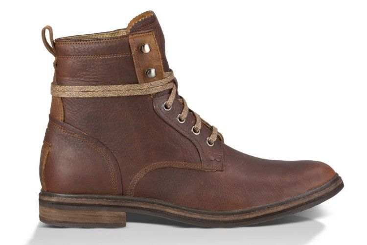 Dapper Leather Hiking Boots