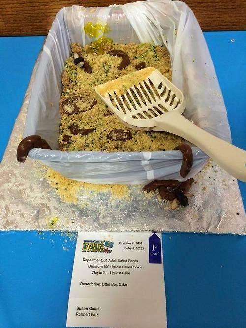 Ugliest Cake Contests