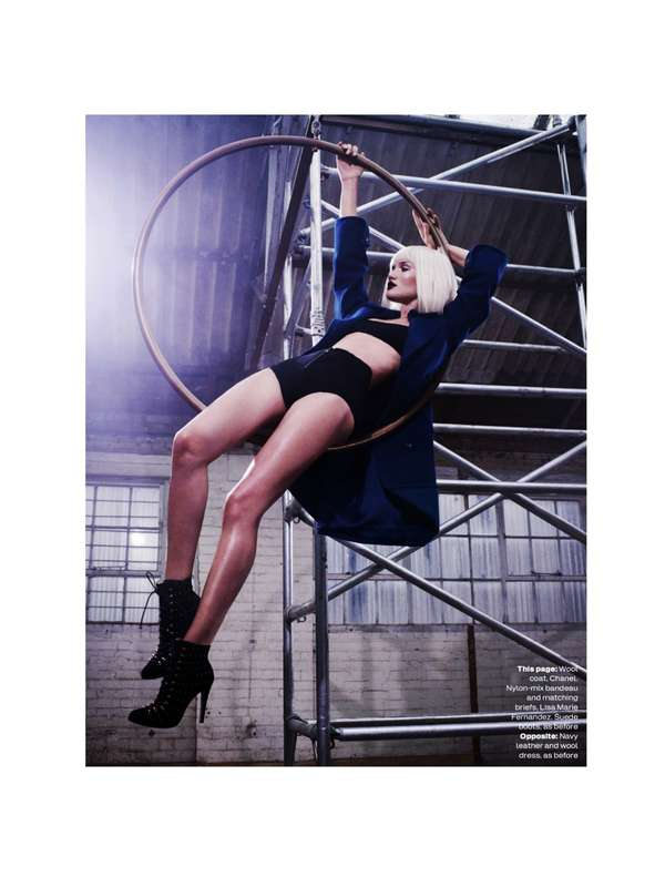 Alluring Acrobatic Editorials