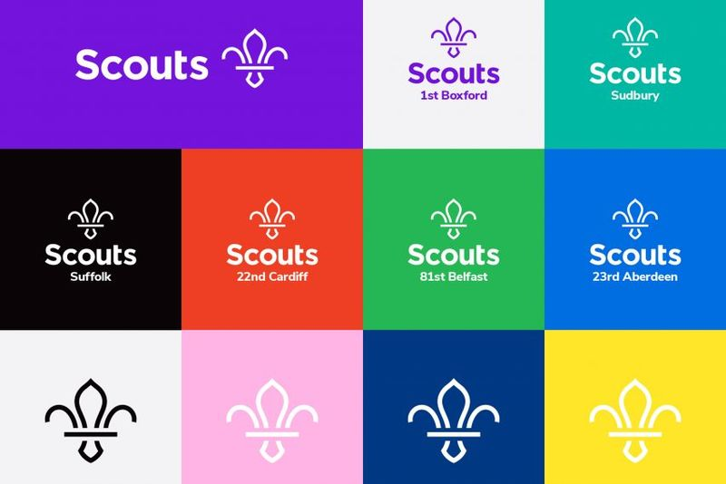 Redesigned Scout Logos