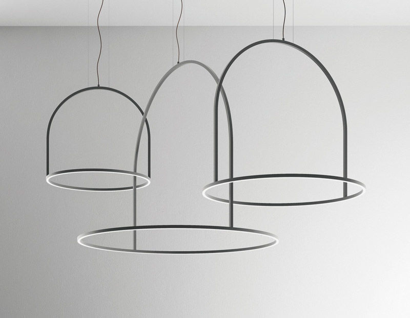 Thin Sculptural Lighting