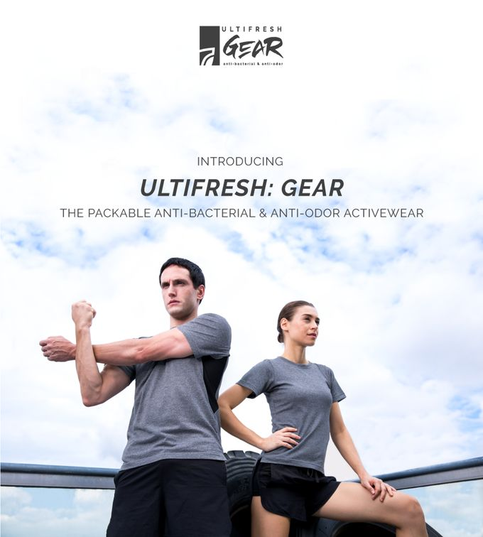 Packable Copper-Infused Activewear
