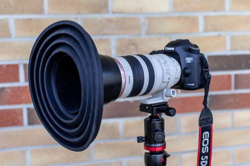 Reflection-Free Camera Accessory