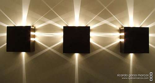 Sleek Cube Lighting