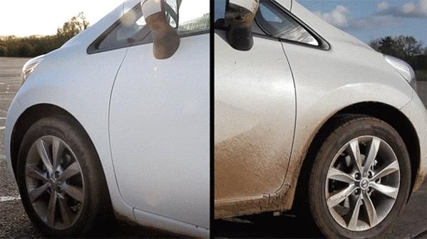 Self-Cleaning Cars