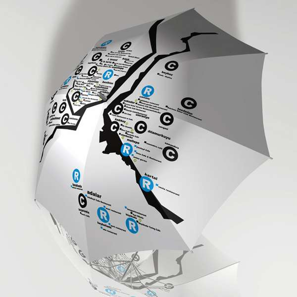 Informative Rain Protectors