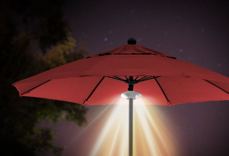 Illuminating Parasol Speakers