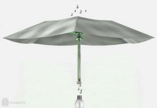 Water Purifying Umbrellas