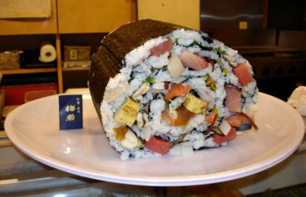 Supersized Sushi Rolls