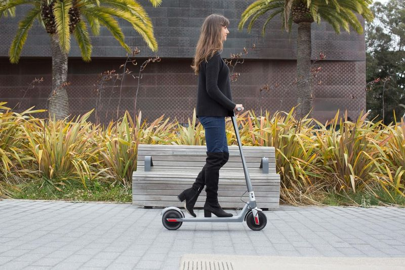 Dynamic Dual-Motor Scooters