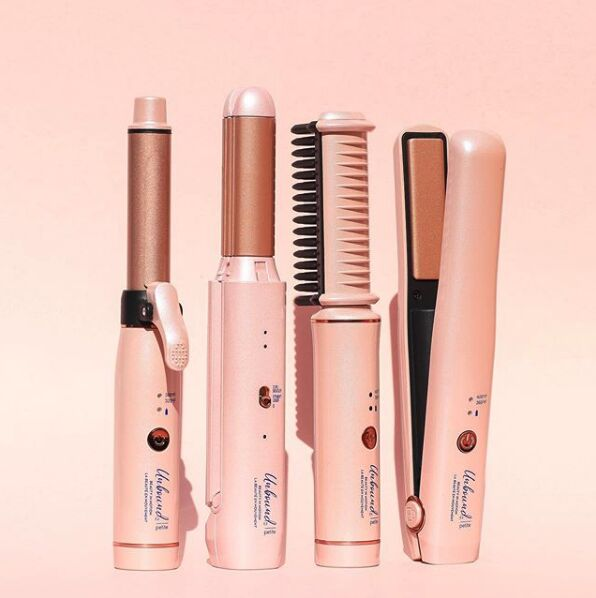 Travel-Sized Cord-Free Hair Tools