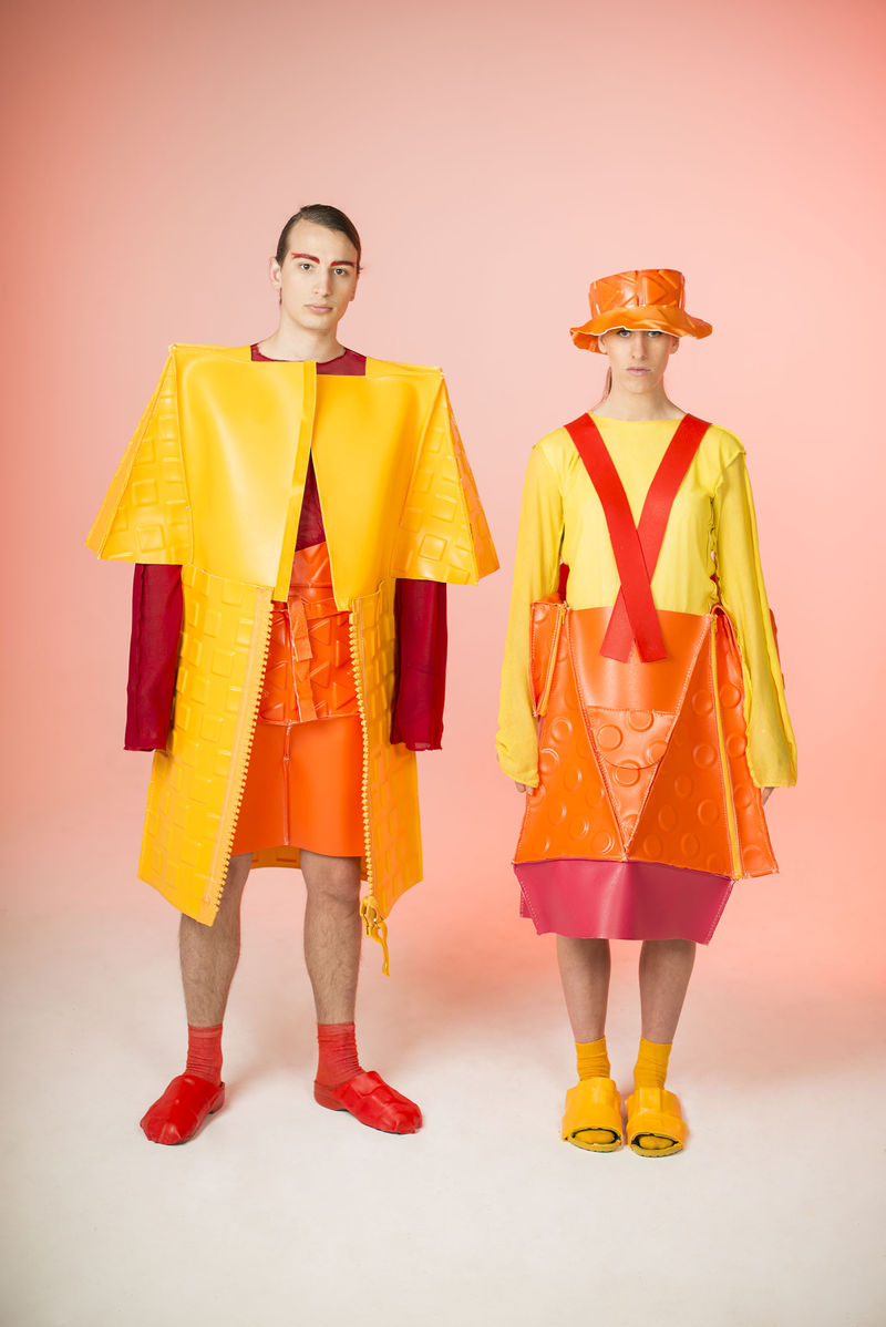 Avant-Garde Collapsible Apparel