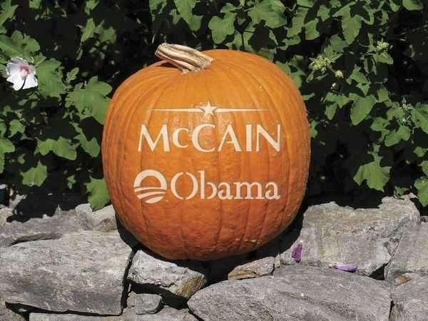 Undecided Voter Pumpkins
