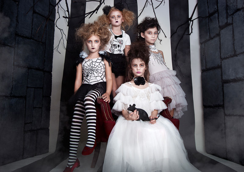 Upscale Halloween Childrenswear