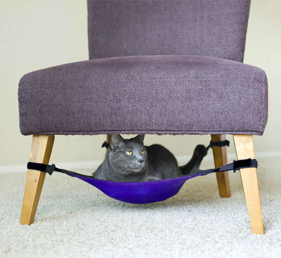Space-Saving Cat Cribs
