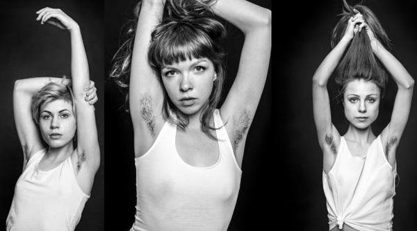 Hairy Armpit Photo Series