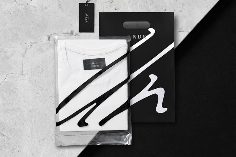 Minimalist Undergarment Packaging