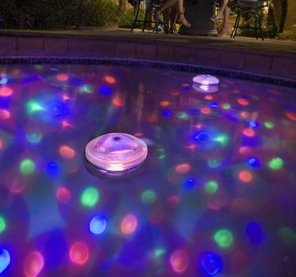 Underwater Light Shows