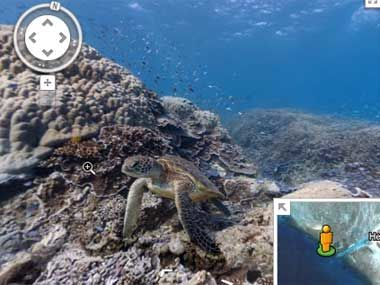 Immersive Underwater Maps