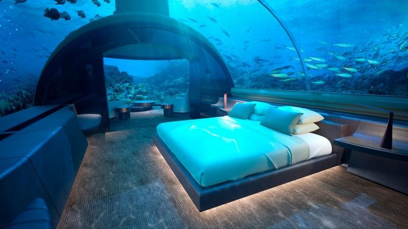 Ultra-Luxe Underwater Residences