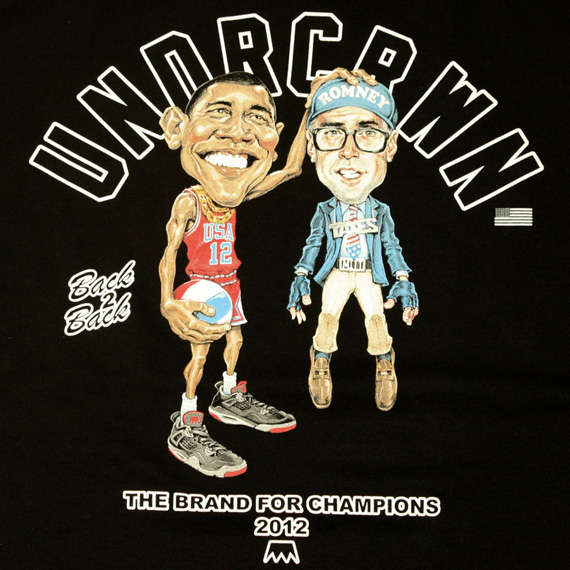 Comic Presidential Support Tees