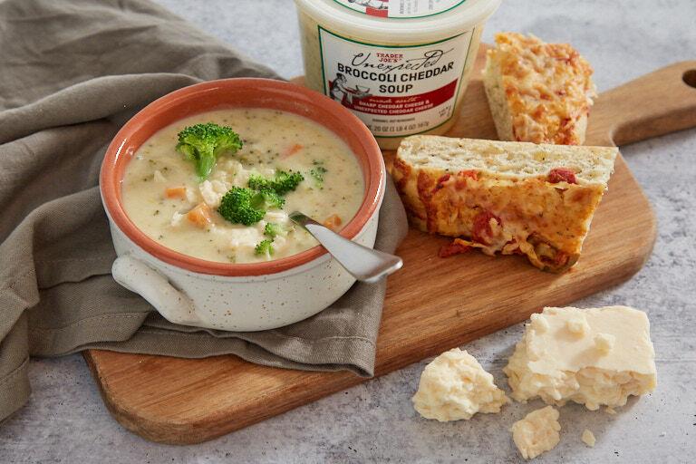 Ready-to-Heat Cheddar Broccoli Soups