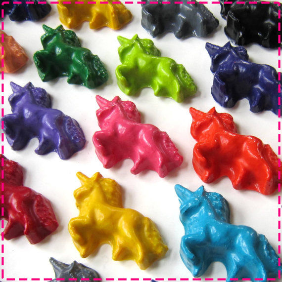 Mythical Unicorn Crayons