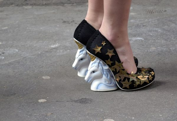Unicorn-Heeled Pumps