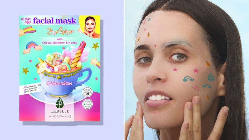 Unicorn-Themed Face Masks