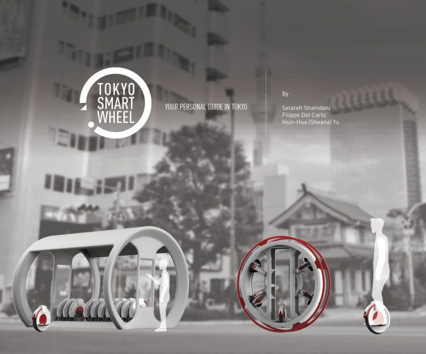 Smart Unicycle Segways