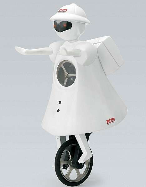 Amazing Unicycling Robots