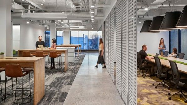 Tech-Filled Headquarters