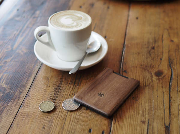 Minimalist Wooden Wallets